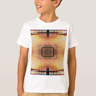 Camiseta Por do sol bonito do lago mirror Image