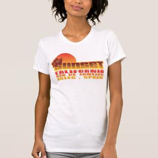 Camiseta Por do sol Califórnia Rio de Janeiro Ibiza