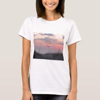 Camiseta Por do sol da mente do decano Spanley Citação