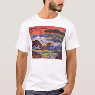 Camiseta por do sol de Catalina, série de Danny Narens