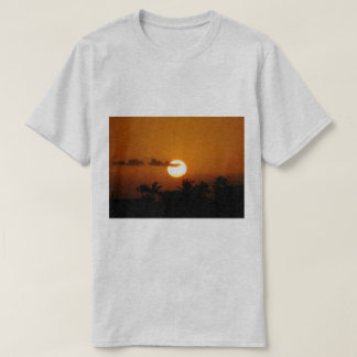 Camiseta Por do sol de Havaí