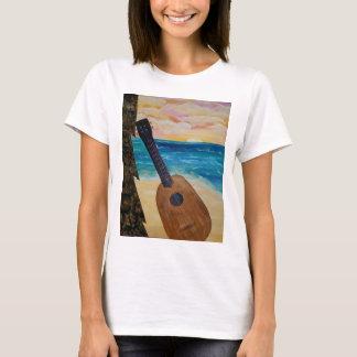Camiseta por do sol de Havaí