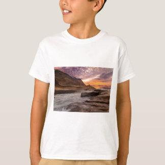 Camiseta Por do sol de Kiwanda do cabo