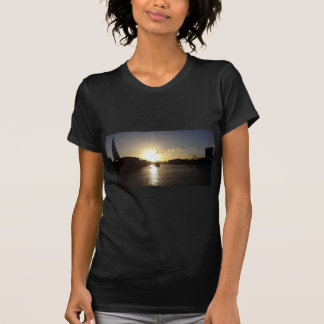 Camiseta Por do sol de Londres