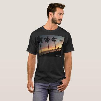 Camiseta Por do sol de Miami Beach