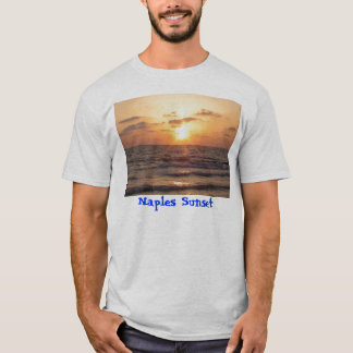 Camiseta Por do sol de Nápoles