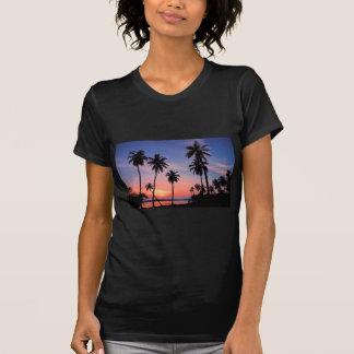 Camiseta Por do sol de Sri Lanka