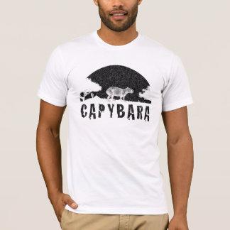 Camiseta Por do sol do Capybara