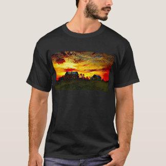 Camiseta Por do sol do Farmstead