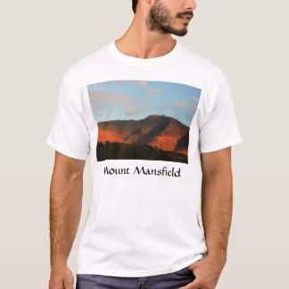Camiseta Por do sol do fulgor do outono de Mansfield da