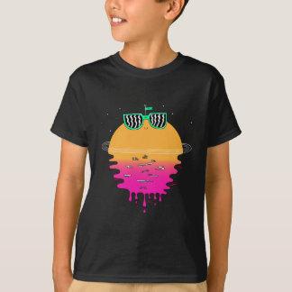 Camiseta Por do sol feliz