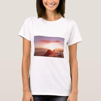 Camiseta Por do sol maravilhoso e incrível nas Filipinas