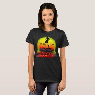 Camiseta Por do sol profundamente enraizado