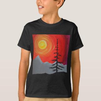 Camiseta Por do sol Spruce