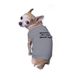 Camiseta Por favor não me alimente!