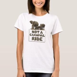 Camiseta Por favor não monte os elefantes