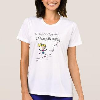 Camiseta Por muito tempo - funcione as senhoras T