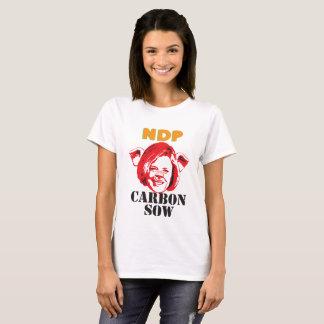 Camiseta Porca do carbono
