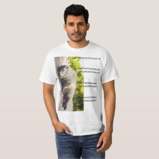 Camiseta Porco à terra aterrado