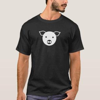 Camiseta Porco branco, leitão, de couro, os DOM, LGBT, gay,