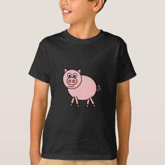 Camiseta Porco cor-de-rosa