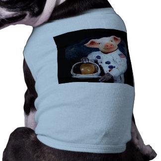 Camiseta Porco do astronauta - astronauta do espaço