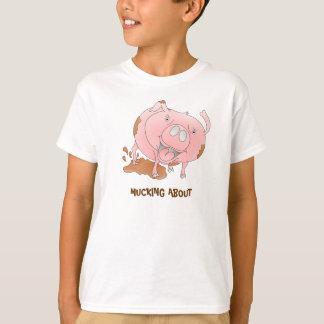 Camiseta Porco na lama