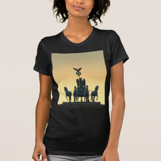 Camiseta Porta de Brandemburgo 001 do Quadriga, Berlim
