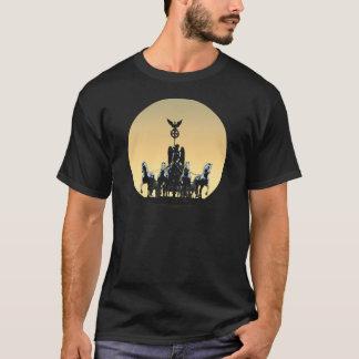 Camiseta Porta de Brandemburgo 002,1 rd do Quadriga de