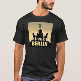Camiseta Porta de Brandemburgo do Quadriga 002,1 de BERLIM