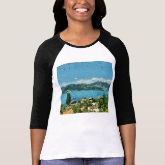 Camiseta Porta, hortaliças e névoa