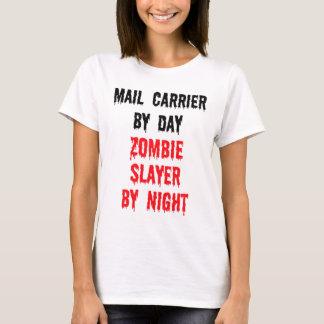 Camiseta Portador de correio pelo assassino do zombi do dia