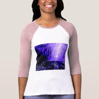 Camiseta Portador dos desejos - veado branco