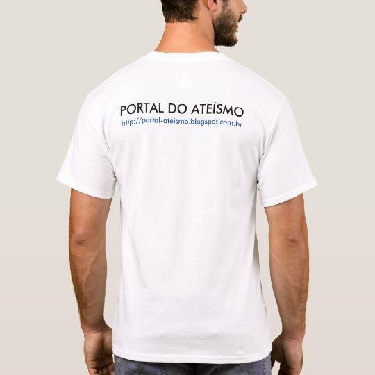 CAMISETA PORTAL DO ATEÍSMO