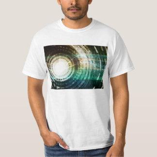 Camiseta Portal futurista da tecnologia com Digitas