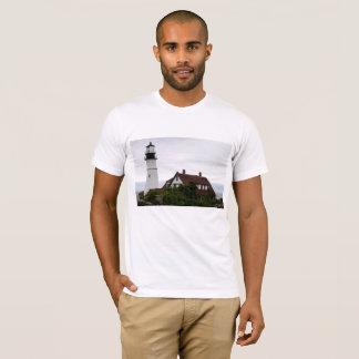 Camiseta Portland Lightouse claro principal Maine