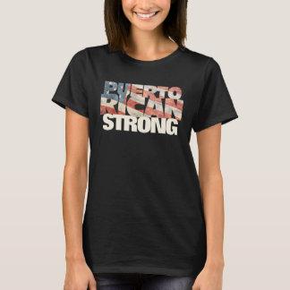 Camiseta Porto-riquenho forte porto-riquenho da bandeira