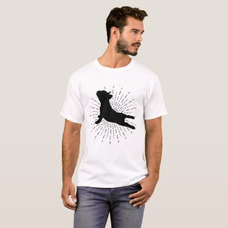 Camiseta Pose ascendente do cão da ioga - t-shirt engraçado