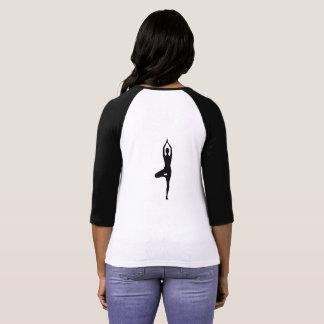 Camiseta Pose da árvore da ioga