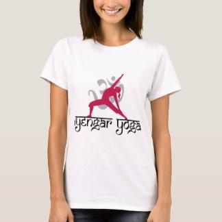 Camiseta Pose da ioga de Iyengar