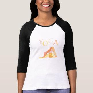 Camiseta Poses da ioga