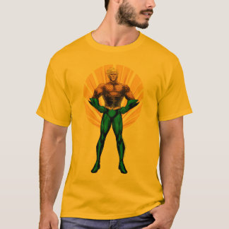 Camiseta Posição de Aquaman