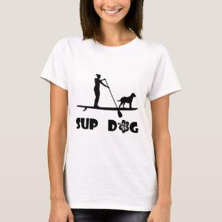 Camiseta Posição do cão do SUP