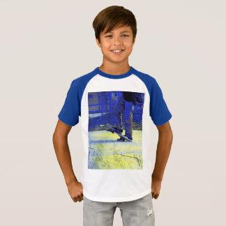 Camiseta Posição do skater   - Skateboarding