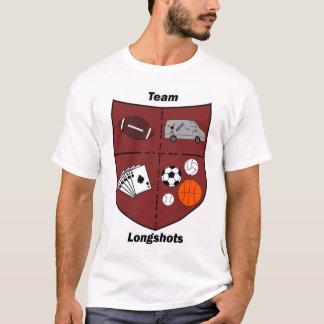 Camiseta Possibilidades remotas da equipe - logotipo do