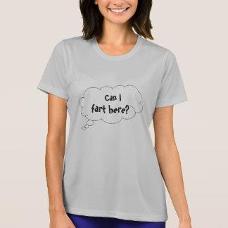Camiseta Posso eu fart aqui balão de pensamento engraçado