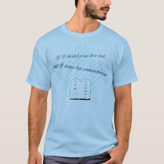 Camiseta Posso eu mudar esse mandamento demasiado?