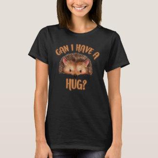 Camiseta Posso eu ter um abraço, t-shirt do ouriço