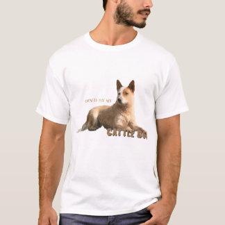 Camiseta Possuído por meu cão australiano do gado