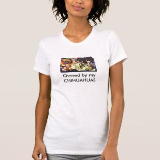 Camiseta Possuído por minhas CHIHUAHUAS